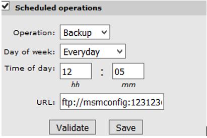 MSM Controller HP