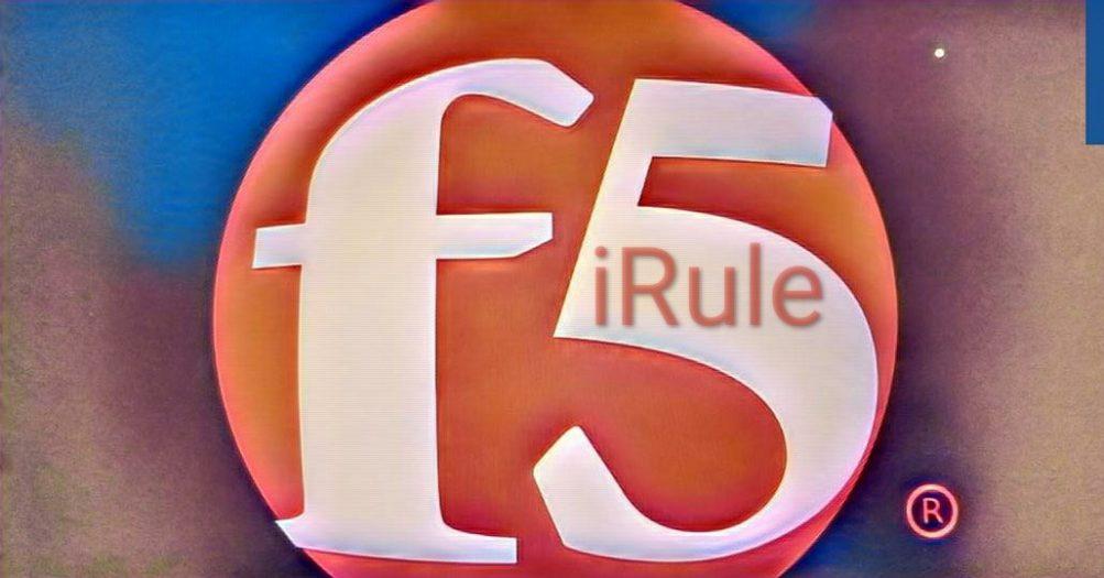 F5 iRule redirect