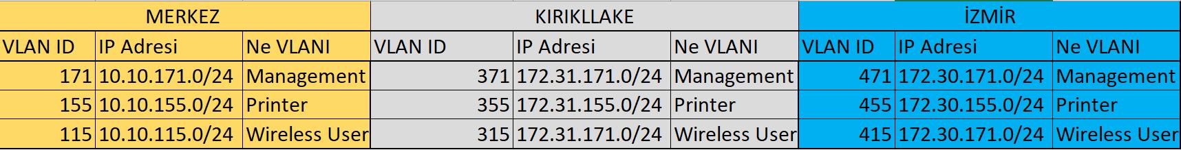 IP planlaması